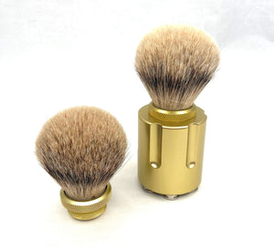 Shave Brush - Gangster - Six Shooter Shaving
