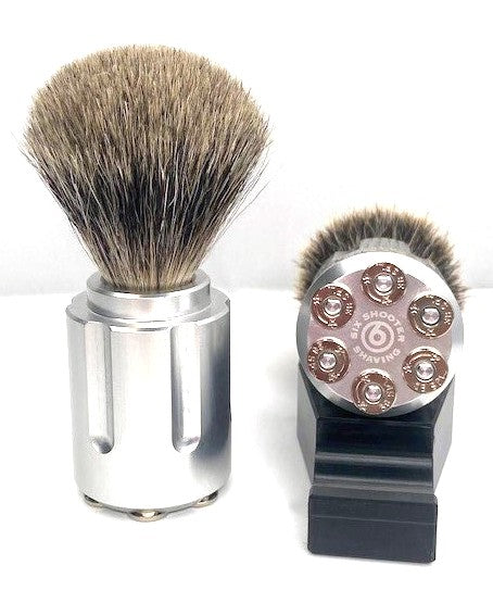 Badger Shave Brush - Outlaw - Six Shooter Shaving