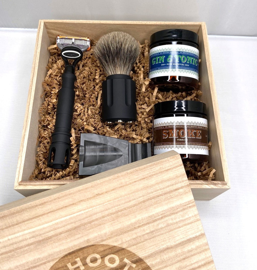 Shaving Gift Set - Tactical - Six Shooter Shaving