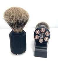 Badger Shave Brush - Tactical - Six Shooter Shaving