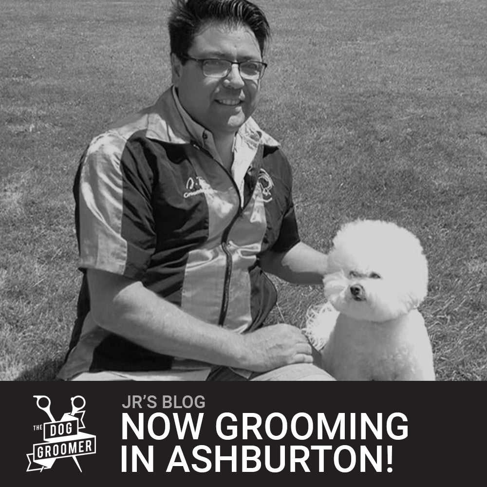 I'm excited to announce I will be grooming in Ashburton!