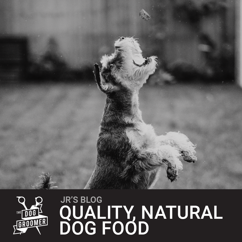 Natural, High Quality Dog Food.