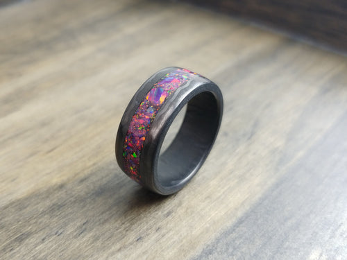 Carbon fiber - purple opal