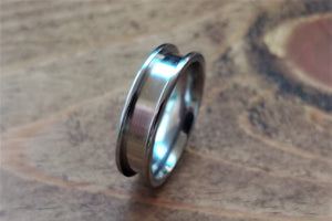 Titanium Ring Blanks 4mm-6mm-8mm