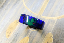Load image into Gallery viewer, Azurite Malachite TruStone - Black Ceramic core