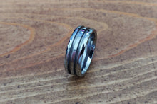 Load image into Gallery viewer, Faceted Tungsten - double channel 8mm
