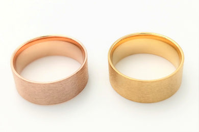 Rose Gold - Yellow Gold Tungsten Core