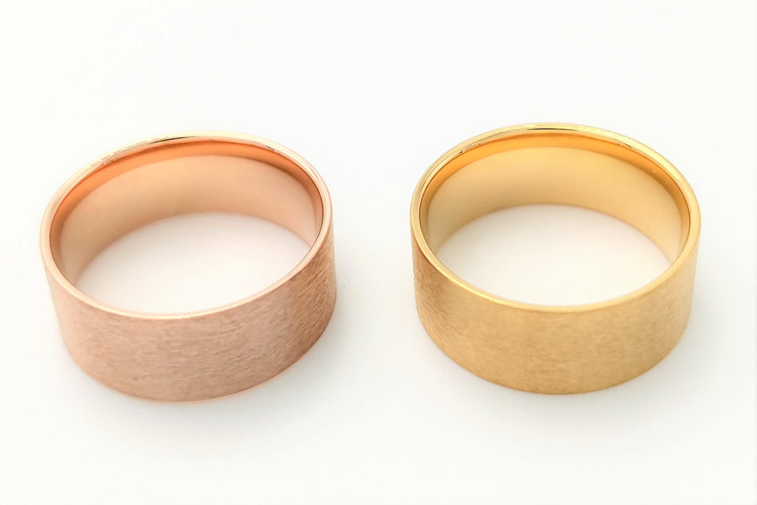*NEW*Rose Gold - Yellow Gold Tungsten Core