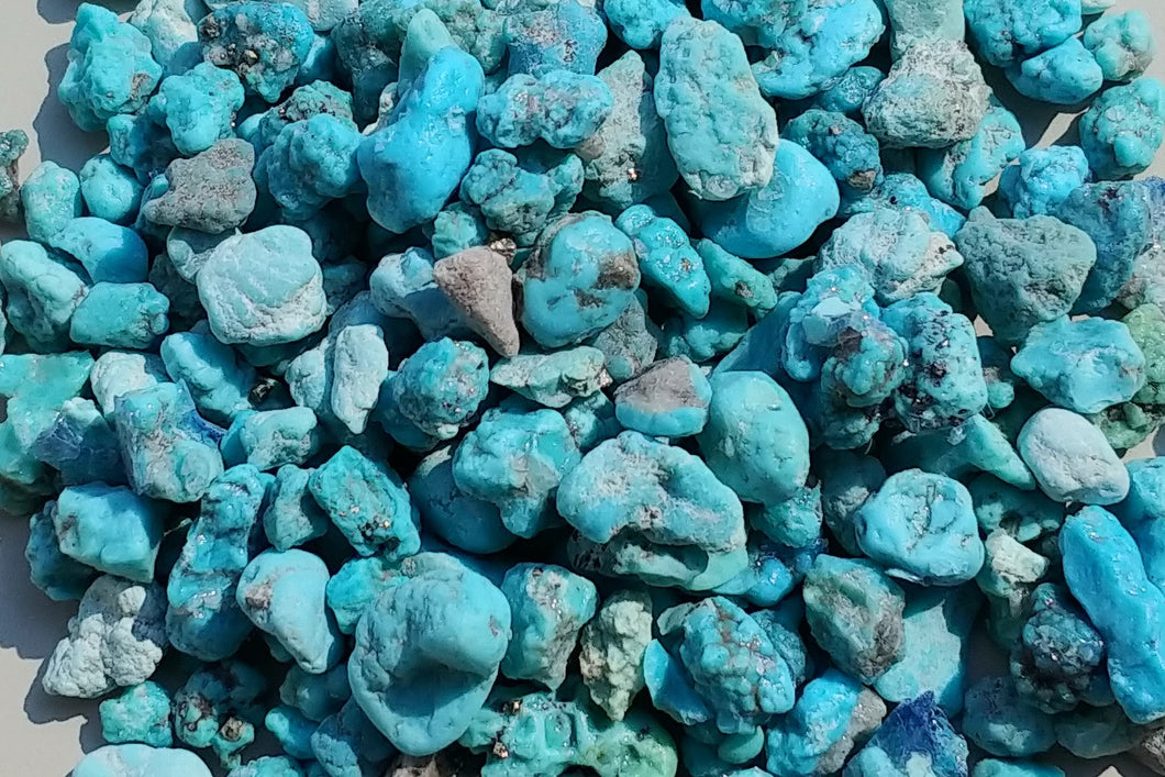 Genuine turquoise nuggets 1 oz
