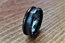Load image into Gallery viewer, Black Ceramic Custom Ring Design 6mm-8mm