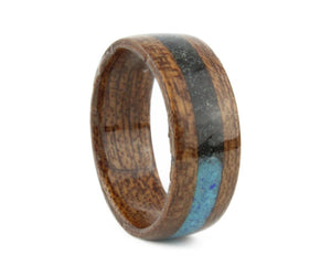 Mahogany Bentwood Ring with Ombré Inlay