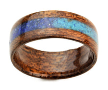 Load image into Gallery viewer, Mahogany Bentwood Ring with Ombré Inlay