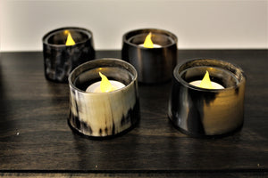 Horn Tealight Candle Holder