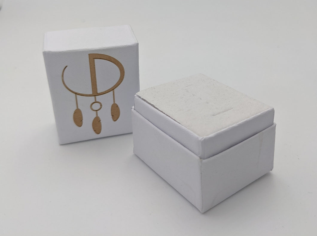 Custom logo ring box-12 pack