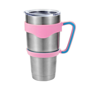 Portable Anti-slip Plastic Table Cup Holder Stainless Steel 30oz Tumbler Handle