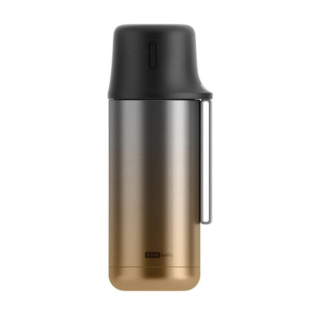 TISRO 350ml Fashion Vacuum Cup Handheld Travel Cup Bottle