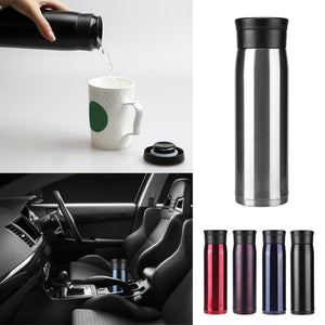 550ml Travel Cup Mug Stainless Steel Vacuum Cup Bottle Thermal Bottle Insulated Tumbler Vacuum Flasks