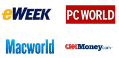 eWeek, PC World, Macworld, CNNMoney.com
