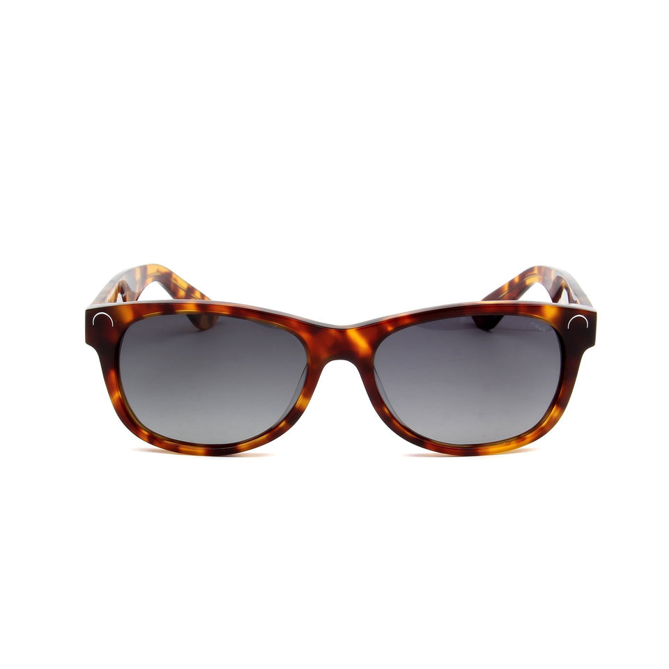 Maiao Tortoise - Front View - Grey Gradient lens - Mawu sunglasses