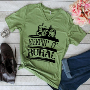 """Keepin' It Rural"" Tee"