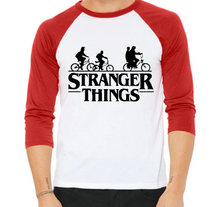 """Stranger Things"" Baseball Tee"