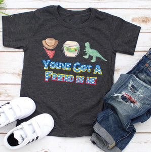 You've Got A Friend In Me Youth Tee