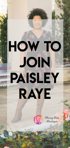 How To Join Paisley Raye