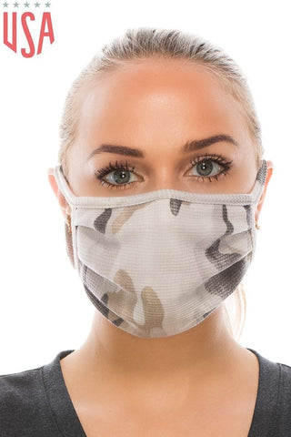 Army Taupe Face Cover