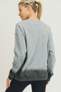 Gray Ombré Sweatshirt