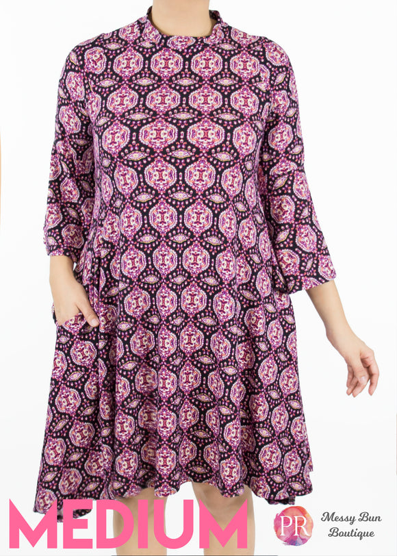 Paisley Raye Lotus Dress