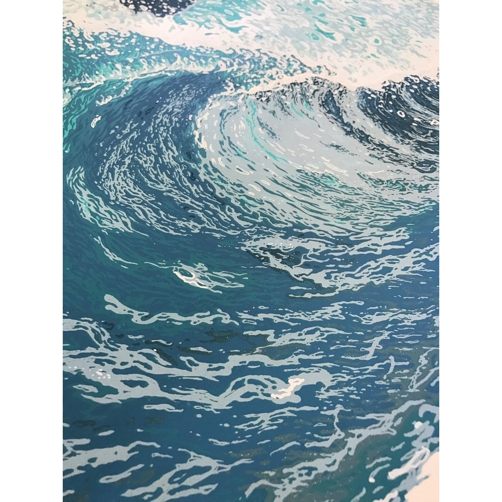 Wave Print Set - Johnny Utah & Bodhi 18 x 24 Wave Screenprint