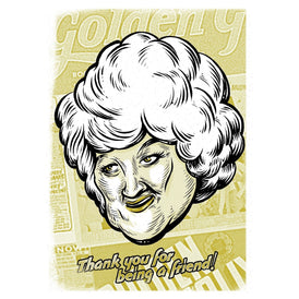 Thank You for being a friend -  Golden Girls Thank You Cards - Dorothy