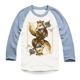 Fox of Spades - Unisex - Triblend Raglan