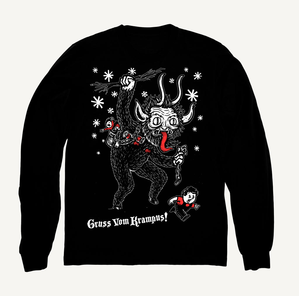 Krampus - Fleece Sweatshirt - Green