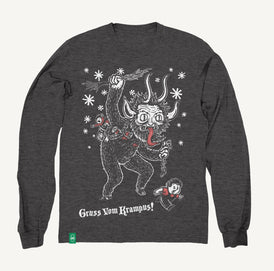 Krampus - Fleece Sweatshirt