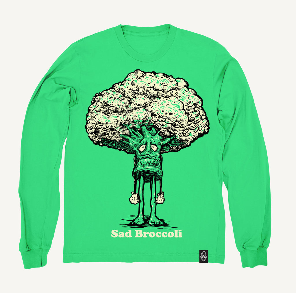 Sad Broccoli - Crewneck Sweatshirt