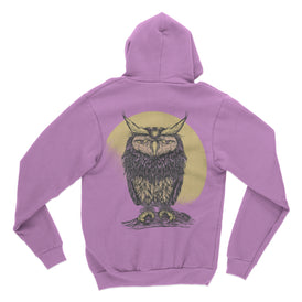 Old Owl - Zip Up Hoodie