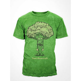 Sad Broccoli - Limited Re-Print-Apparel- Quarrelsome Yeti