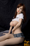 157cm Realistic Sex Doll Big Boobs Nature Skin Lora