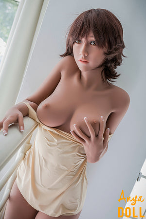 163cm C-Cup Sex Dolls TPE Small Breast Yvette