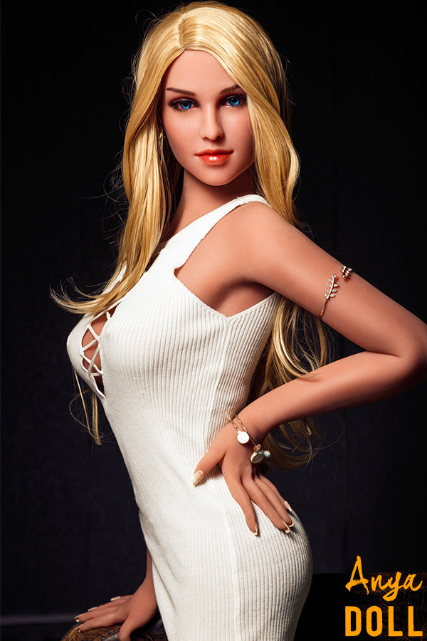 158cm Flat Chested TPE Sex Doll Fiona