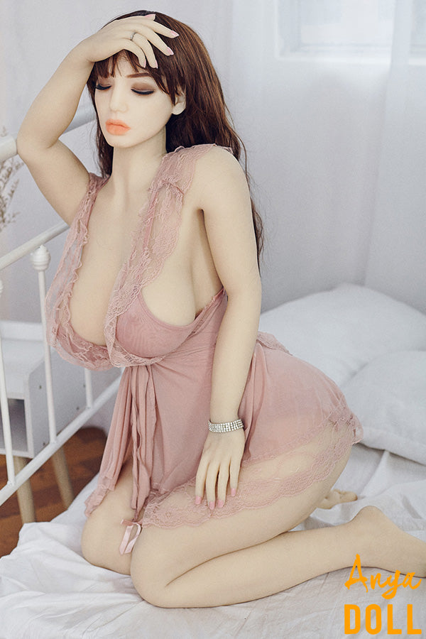 158cm H-Cup Huge Tits Sleeping Sex Doll Gina