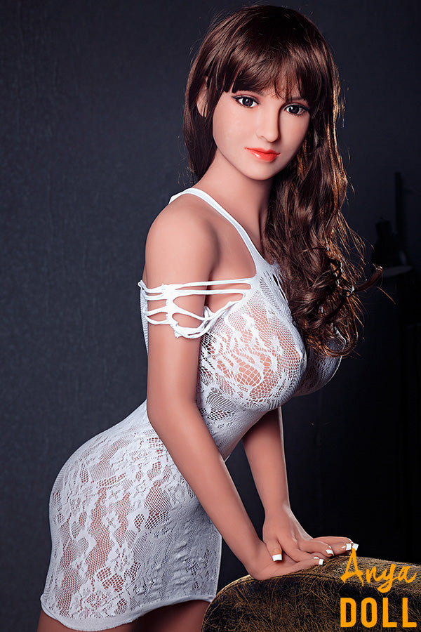 158cm Big Breast Slim Wasit Sex Doll Belinda