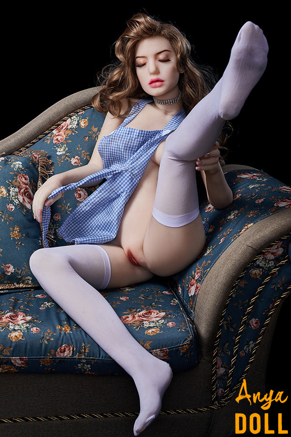 145cm Closed Eyes Small Breast Sex Doll Aurora