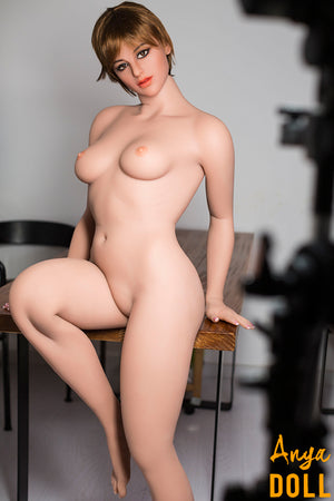162cm B-Cup Solid Love Doll with Tiny Tits Elaine