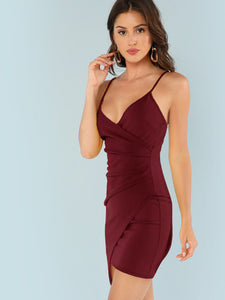Asymmetrical Cami Dress