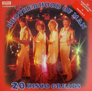 Brotherhood Of Man ‎– 20 Disco Greats