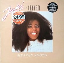 Load image into Gallery viewer, Jaki Graham ‎– Heaven Knows