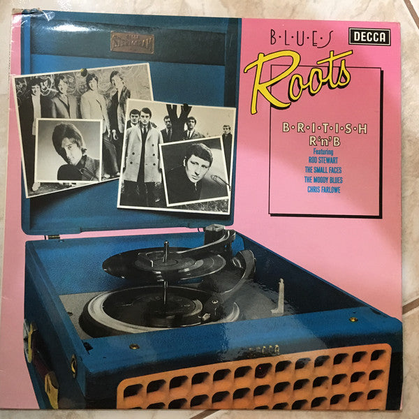 Various ‎– Blues Roots - British R'n'B