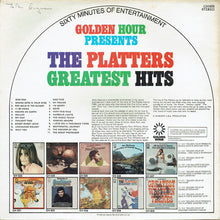 Load image into Gallery viewer, The Platters ‎– Golden Hour Presents The Platters Greatest Hits
